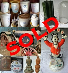Antiques, Crocks, Tools & Collectibles